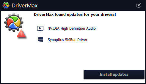 DriverMax Notification