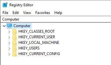 Verbose Registry Editor
