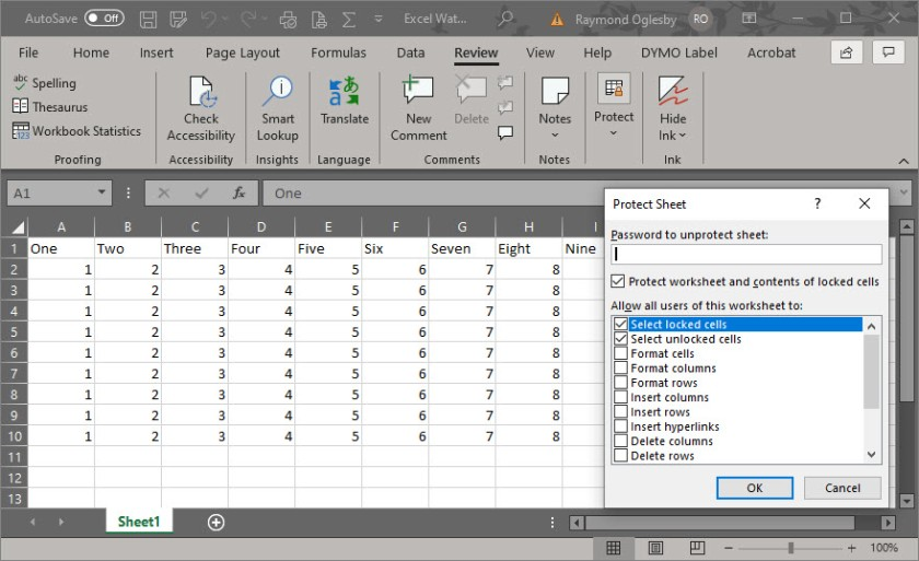 Excel Security 5