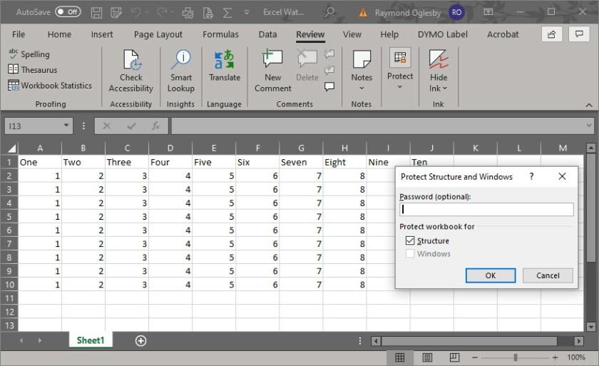 Excel Security 6