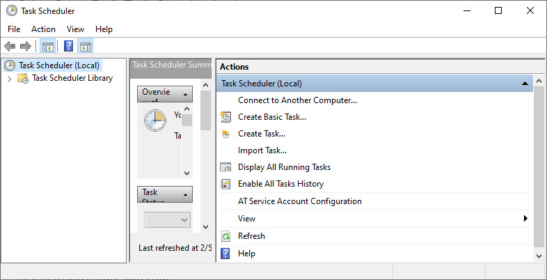 Task Scheduler 0
