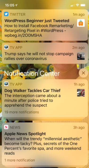 iPhone Notifications 1