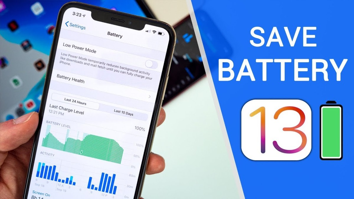 Eight Ways for Better Battery Life in iOS 13