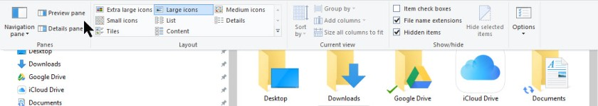 File Explorer Preview 2