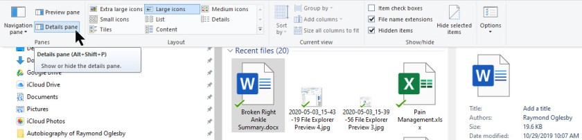 File Explorer Preview 5