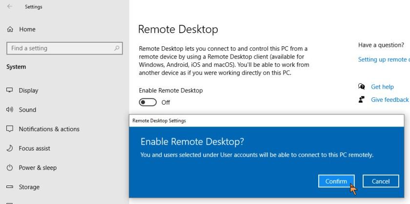 Remote Access 3
