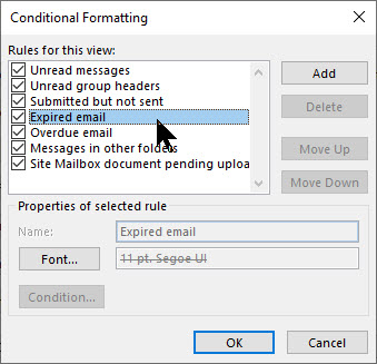 Outlook Expire Date 2