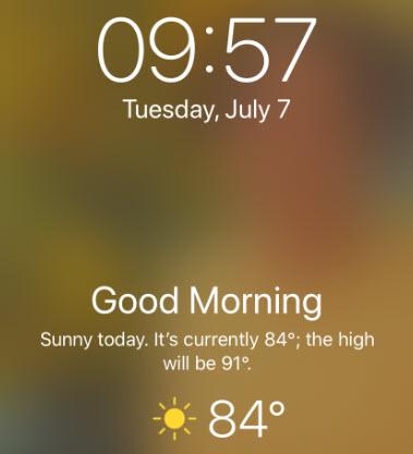 Weather Lock Screen 4