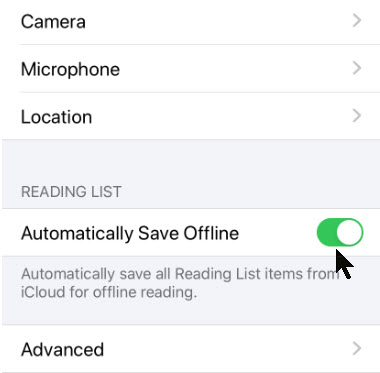 Offline Reading 7