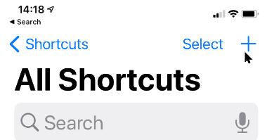 Shortcut 2