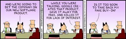 Dilbert and Fake