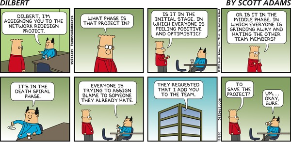 Dilbert and Project