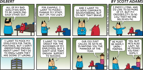 Dilbert and Manager