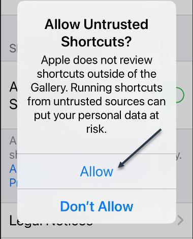 Shortcuts 4