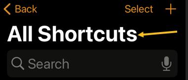 Shortcuts 2
